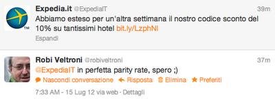 expedia_fuori_parity_tweet_robi