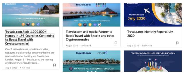 portali blockchain
